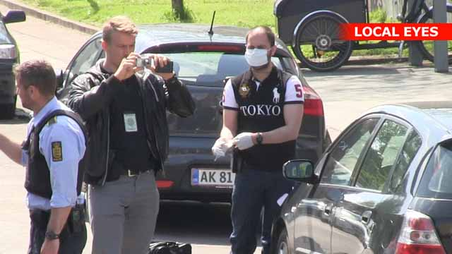 Vold mod politiet på Nørrebro